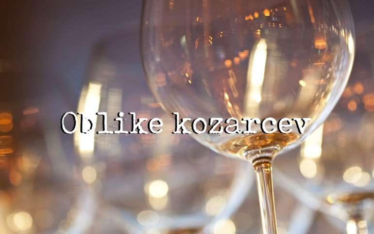 Oblike vinskih kozarcov
