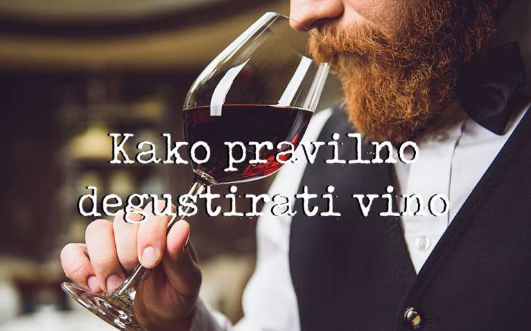 Kako degustirati vino